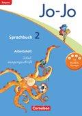 Jo-Jo Sprachbuch, Grundschule Bayern 2014: 2. Schuljahr, Arbeitsheft Schulausgangsschrift