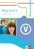 Blue Line. Ausgabe ab 2014: 5. Schuljahr, Vokabeltraining aktiv; Bd.1