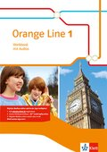 Orange Line, Ausgabe 2014: 5. Klasse, Workbook mit Audio-CD; Bd.1