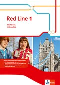 Red Line, Ausgabe 2014: 5. Klasse, Workbook mit Audio-CD; Bd.1