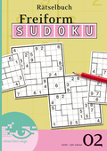 Freiform-Sudoku Rätselbuch - Bd.2