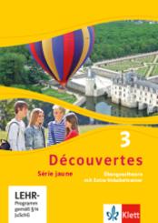Découvertes - Série jaune: Übungssoftware mit Extra-Vokabeltrainer, 1 CD-ROM; Bd.3
