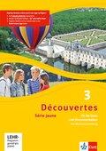 Découvertes - Série jaune: Fit für Tests und Klassenarbeiten, m. CD-ROM; Bd.3