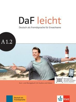 DaF leicht: Kurs- und Übungsbuch, m. DVD-ROM; Bd.A1.2