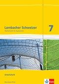 Lambacher-Schweizer, Ausgabe Rheinland-Pfalz 2012: 7. Schuljahr, Arbeitsheft