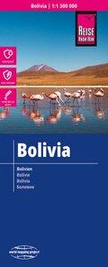 Reise Know-How Landkarte Bolivien; Bolivia / Bolivie