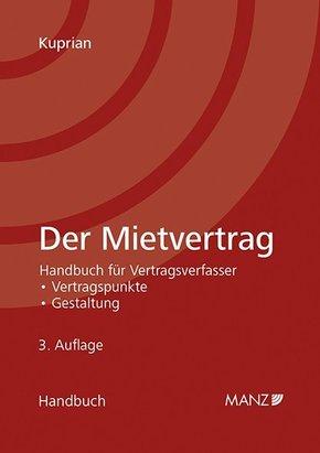 Der Mietvertrag  (f. Österreich)