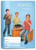 RONDO, Ausgabe Bayern: 1./2. Jahrgangsstufe, Arbeitsheft 2
