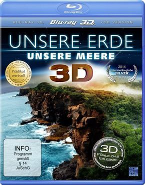 Unsere Erde, unsere Meere 3D, 1 Blu-ray