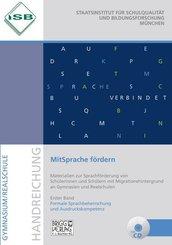 MitSprache fördern: Formale Sprachbeherrschung und Ausdruckskompetenz, m. CD-ROM; Bd.1