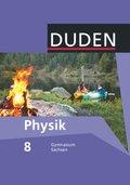Duden Physik, Ausgabe Gymnasium Sachsen: 8. Schuljahr, Schülerbuch