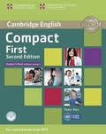 Compact First, Second Edition: Student's Book without answers, with CD-ROM