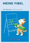 Meine Fibel, Ausgabe 2015: 1. Schuljahr, Schreiblehrgang in Schulausgangsschrift