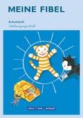 Meine Fibel, Ausgabe 2015: 1. Schuljahr, Arbeitsheft Schulausgangsschrift