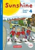 Sunshine, Allgemeine Ausgabe (Neubearbeitung): 4. Schuljahr, Pupil's Book