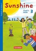 Sunshine, Allgemeine Ausgabe (Neubearbeitung): 3. Schuljahr, Pupil's Book