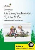 Die Naturforscher-Kartei: Kräuter & Co., m. CD-ROM