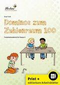 Dominos zum Zahlenraum 100, m. CD-ROM