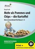 Mehr als Pommes und Chips - die Kartoffel, m. CD-ROM