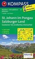 Kompass Karte St. Johann im Pongau - Salzburger Land