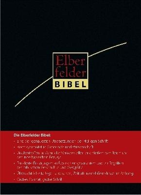 Bibelausgaben: Elberfelder Bibel - Großausgabe; Brockhaus