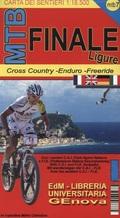 EDM MTB Finale Ligure, Mountainbike-Karte