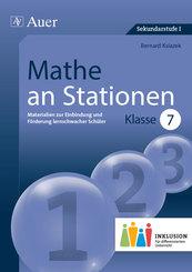 Mathe an Stationen, Klasse 7 Inklusion