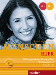 Prüfungstraining Deutsch-Test für Zuwanderer mit Audio-CD