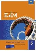 Elemente der Mathematik (EdM) SI, Ausgabe Nordrhein-Westfalen (2012): 6. Schuljahr, Klassenarbeitstrainer