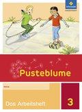 Pusteblume. Das Sprachbuch, Allgemeine Ausgabe 2015: 3. Schuljahr, Das Arbeitsheft