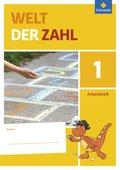 Welt der Zahl, Allgemeine Ausgabe 2015: 1. Schuljahr, Arbeitsheft; Bd.1