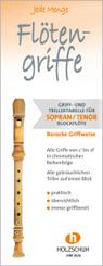 Jede Menge Flötengriffe - Sopran/Tenor (Barocke Griffweise)