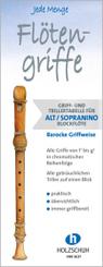 Jede Menge Flötengriffe - Alt/Sopranino (Barocke Griffweise)