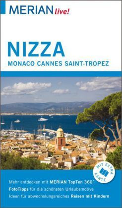 MERIAN live! Reiseführer Nizza, Monaco, Cannes, Saint Tropez