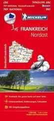 Michelin Karte Frankreich Nordost