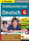 Stationenlernen Deutsch, 6. Schuljahr