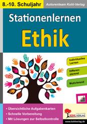 Kohls Stationenlernen Ethik 8.-10. Schuljahr