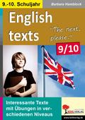 English texts - The next, please. 9.-10. Schuljahr