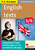 English texts - The next, please. 5.-6. Schuljahr