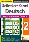SelbstLernKartei Deutsch: Erstes Wörterlesen 1; Bd.2