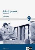 Schnittpunkt Mathematik Mittleres Niveau, Ausgabe Niedersachsen: 9. Schuljahr, Lösungen