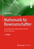 Mathematik für Biowissenschaftler