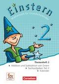 Einstern, Neubearbeitung (2015): Einstern - Mathematik für Kinder - Ausgabe 2015 - Band 2; 2