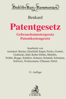 Patentgesetz (PatG), Kommentar