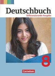 Deutschbuch, Differenzierende Ausgabe: 8. Schuljahr, Schülerbuch