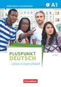 Pluspunkt Deutsch - Leben in Deutschland: Arbeitsbuch (Gesamtband) mit Audio-CD; Bd.A1