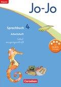 Jo-Jo Sprachbuch, Grundschule Bayern 2014: 4. Jahrgangsstufe, Arbeitsheft Schulausgangsschrift