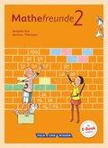 Mathefreunde, Ausgabe Süd 2015: 2. Schuljahr, Schülerbuch