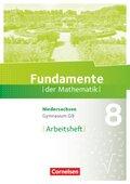 Fundamente der Mathematik, Gymnasium Niedersachsen G9: 8. Schuljahr, Arbeitsheft
