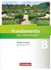 Fundamente der Mathematik, Gymnasium Niedersachsen G9: 8. Schuljahr, Schülerbuch